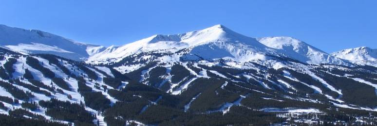 Home of the beautiful Tenmile Range, Breckenridge has approximately 65% of oxygen that is found at sea-level.