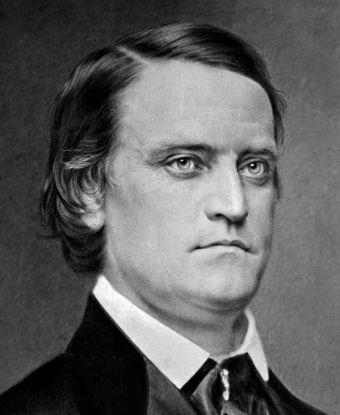 John C. Breckinridge. Fun fact: one of our staff members is related to John!